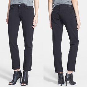 • PAIGE • Jimmy Jimmy Skinny Boyfriend Jeans Black